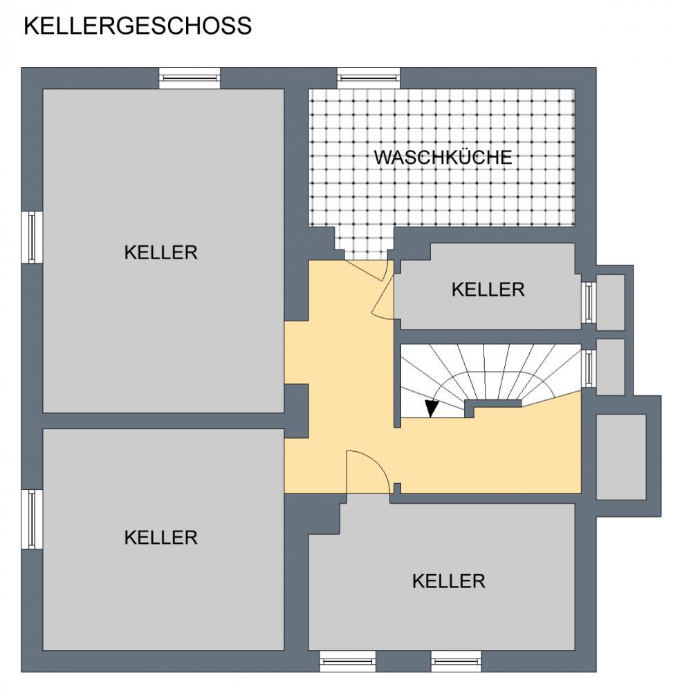 Grundriss Keller (ohne Gewähr)
