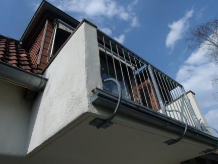 Balkon vom Dachgeschoß